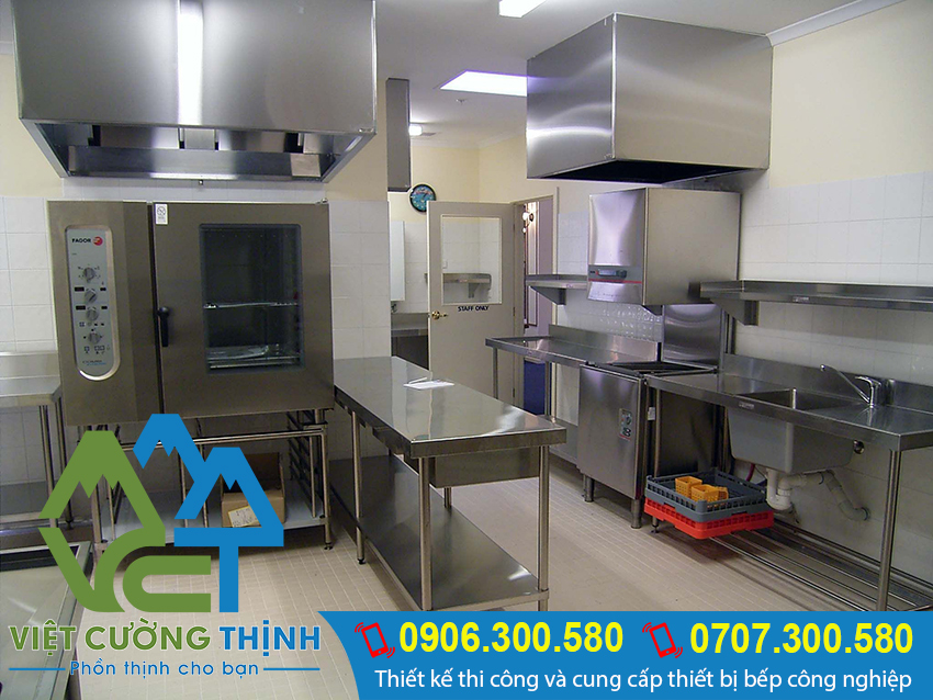 Bạn muốn đặt làm bàn bếp inox 304 cồng nghiệp, bàn bếp nhà hàng giá tốt. Hãy liên hệ Việt Cường Thịnh.