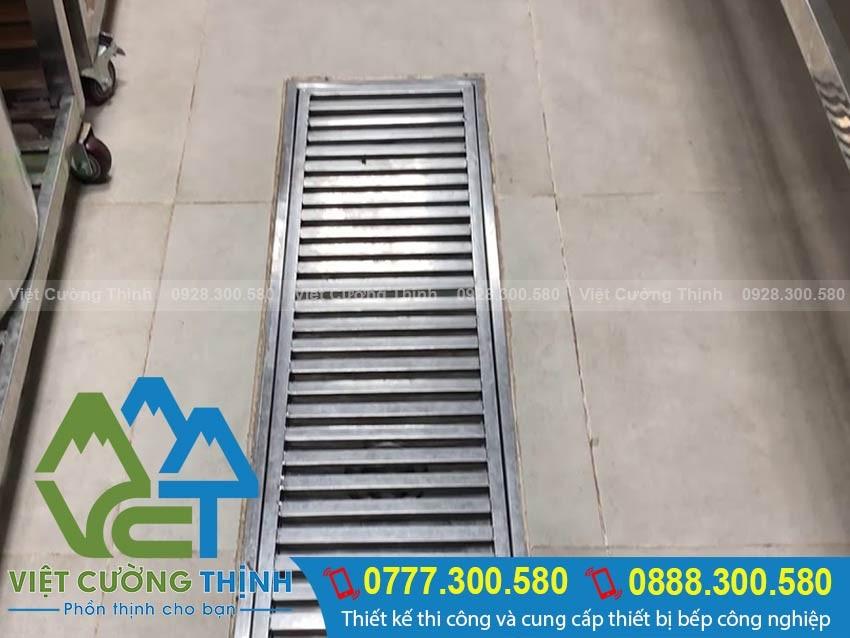 Báo giá mương thoát sàn inox 304 chất lượng tại Việt Cường Thịnh