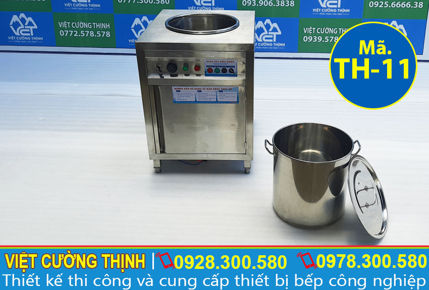 Báo giá tủ hâm nóng thức ăn 50 lít, tủ giữ nóng canh làm nóng thức ăn khi bán kinh doanh đồ ăn.