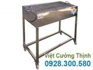Lò nướng BBQ inox Việt Cường Thịnh.