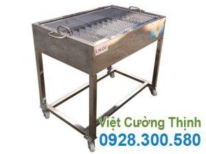 Lò nướng than BBQ tại Inox Việt Cường Thịnh.