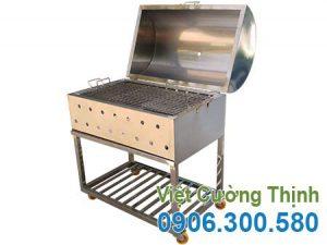 Bếp nướng than inox, bếp nướng BBQ, bếp nướng than hoa không khói Việt Cường Thịnh uy tín chất lượng cao.