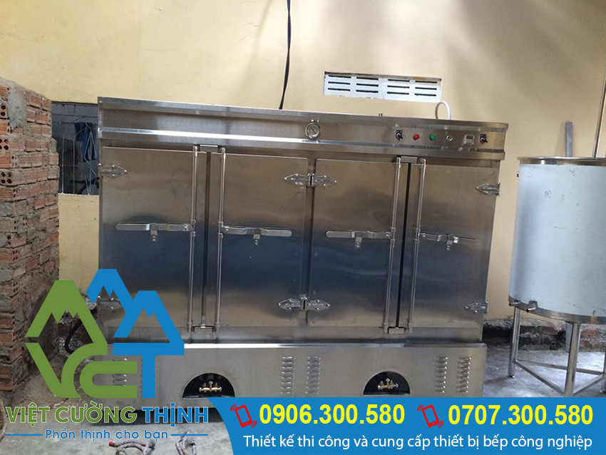 Việt Cường Thịnh chuyên cung cấp và sản xuất tủ hấp cơm công nghiệp cao cấp tại TP.HCM