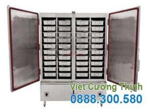 tủ nấu cơm công nghiệp bằng điện và gas 200kg