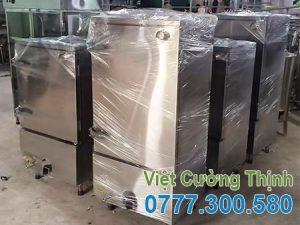 Tủ nấu cơm công nghiệp bằng điện và gas 50kg