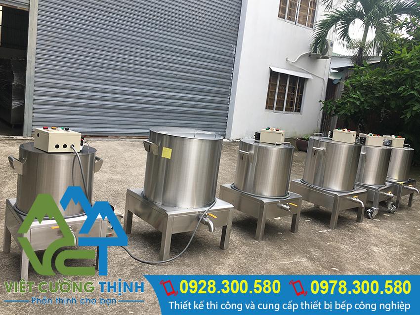 Báo giá nồi nấu phở bằng điện, nồi nấu phở cao cấp chất lượng tại Việt Cường Thịnh