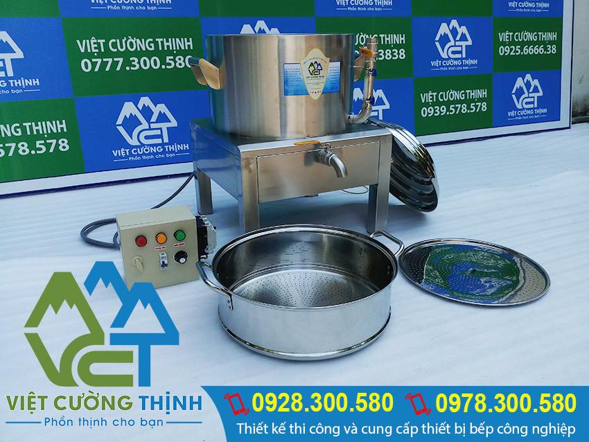 Địa chỉ bán nồi hấp cơm tấm bằng điện, nồi điện hấp cơm tấm, xửng điện hấp cơm tấm, xửng hấp cơm tấm bằng điện giá tốt tại VCT uy tín chất lượng