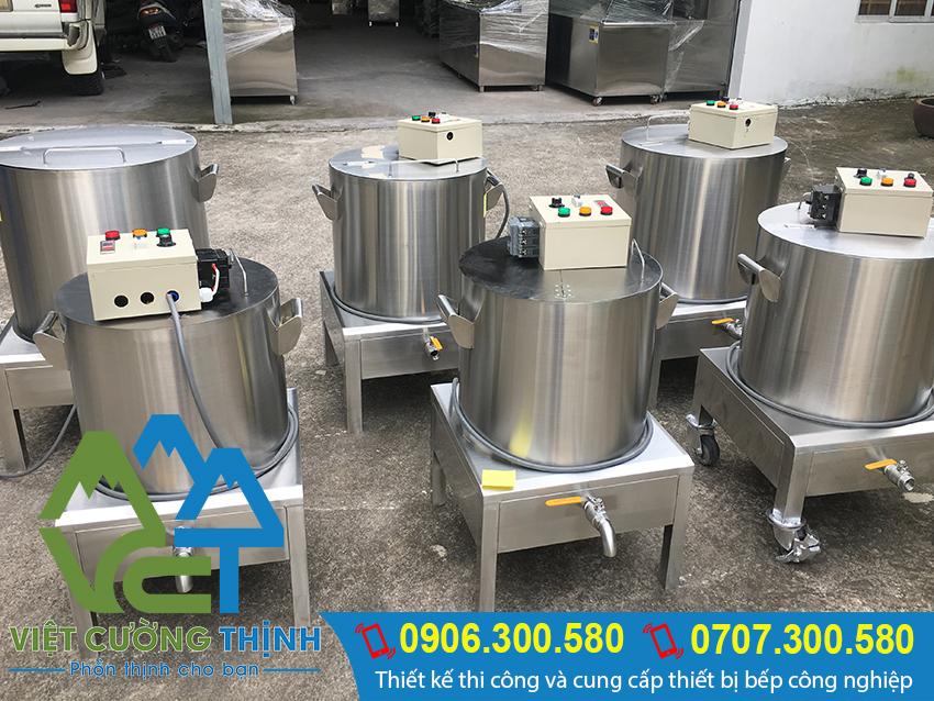 Việt Cường Thịnh chuyên cung cấp và sản xuất nồi nấu phở công nghiệp giá tốt, chất lượng tai