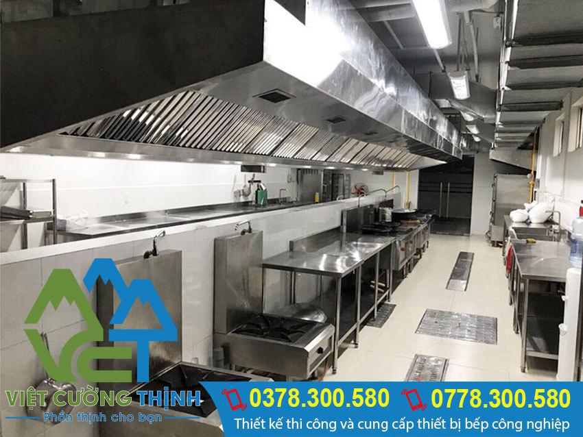 Hệ Thống Hút Khói Bếp Nhà hàng - Khách Sạn