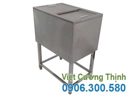 Thùng đựng đá inox, thùng đá inox 304 giá tốt tại VCT