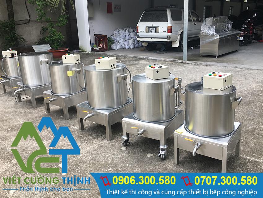 Việt Cường Thịnh địa chỉ cung cấp nồi nấu cháo công nghiệp bằng điện chất lượng, giá tốt tại TP.HCM