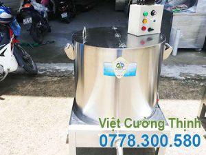 Nồi hầm xương công nghiệp bằng điện120L tại Việt Cường Thịnh