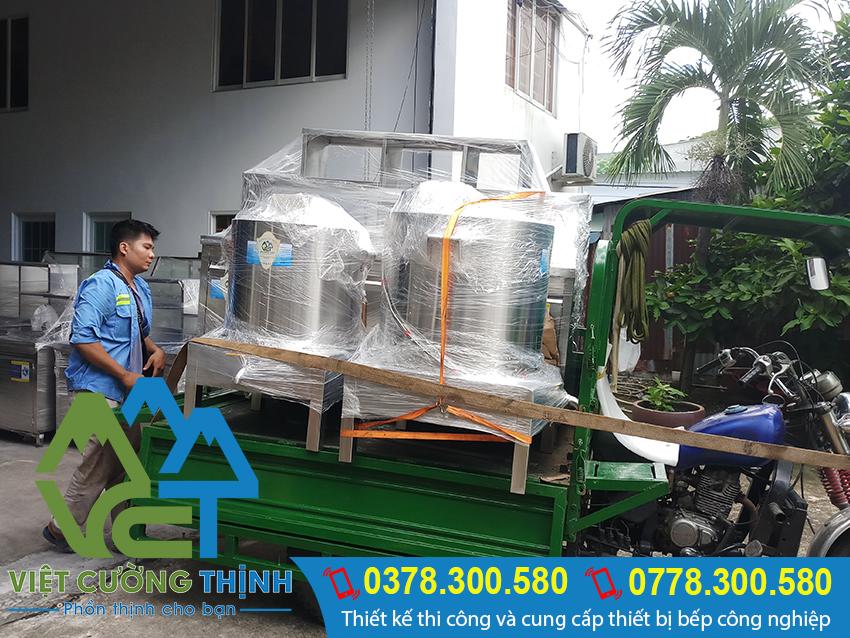 Việt Cường Thịnh chuyên cung cấp và sản xuất nồi nấu hủ tiếu bằng điện, nồi nấu hủ tiếu inox tại tp.hcm