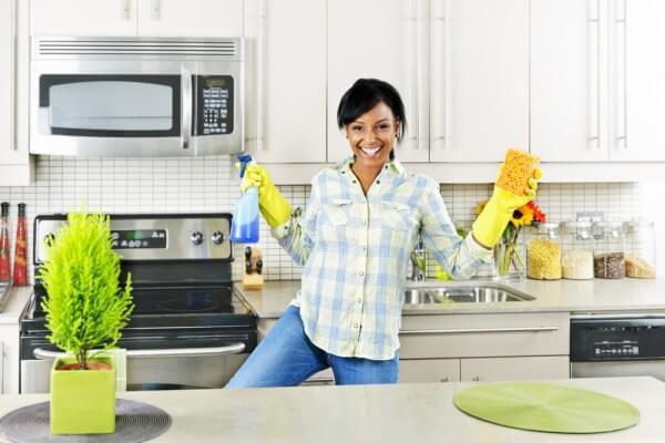 Những mẹo khủ mùi trong nhà bếp hiệu quả