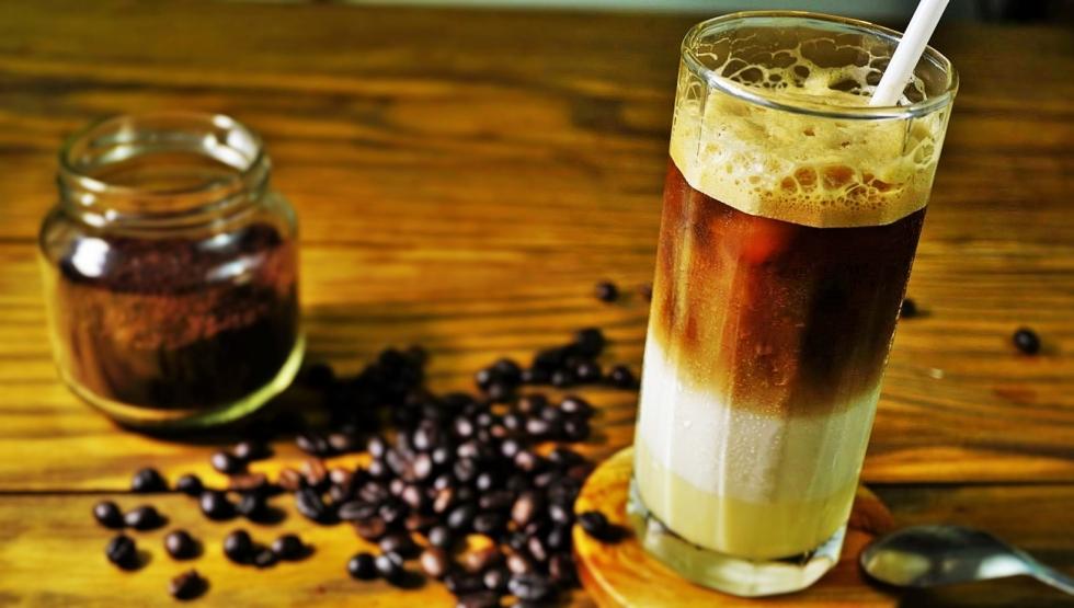 Cà phê 3 tầng được khách hàng yêu thích