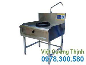Bếp á công nghiệp 1 họng kiềng gang giá tốt tại đơn vị Inox Việt Cường Thịnh.