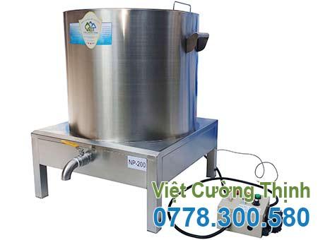 Nồi nấu phở bằng điện 200L VCT, địa chỉ bán nồi nấu phở điện công nghiệp uy tín chất lượng giá tốt.