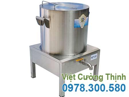Nồi nấu phở bằng điện 60L giá tốt tại xưởng Inox Việt Cường Thịnh được rất nhiều khách hàng tin chọn.