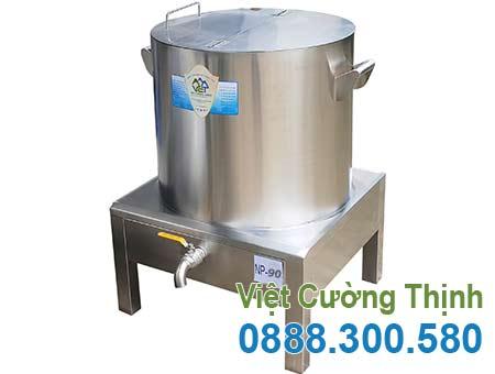 Nồi nấu phở bằng điện 90L giá tại xưởng Inox Việt Cường Thịnh.