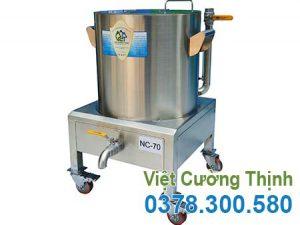 Nồi nấu cháo bằng điện 70L giá tốt, nồi nấu cháo công nghiệp bằng điện 70L tại VCT