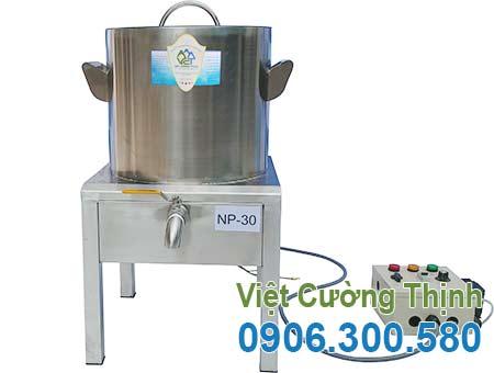 Nồi nấu phở bằng điện 30L giá tốt tại đơn vị sản xuất inox việt cường thịnh