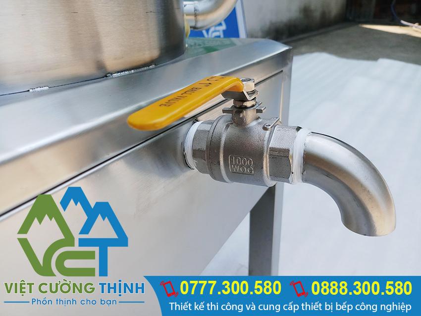 Van xã nồi hấp công nghiệp bằng điện, nồi hấp điện, nồi hấp công nghiệp chất lượng cao tại VCT.