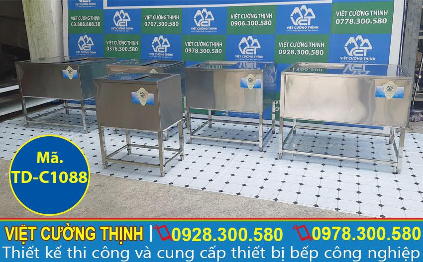 Bộ 5 thùng đá inox 304 chất lượng tại Việt Cường Thịnh