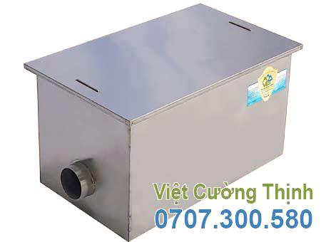 Bể tách mỡ inox công nghiệp 140l BM-N140