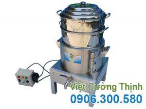 Sản phẩm nồi hấp bánh bao bằng điện loại 2 tầng tại VCT, địa chỉ mua nồi hấp bánh bao công nghiệp bằng điện uy tín giá tốt.