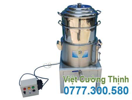 Mua nồi hấp xôi công nghiệp bằng điện 2 tầng tại xưởng sản xuất VCT uy tín chất lượng.