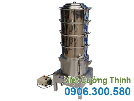 Địa chỉ mua nồi hấp xôi công nghiệp bằng điện 4 tầng sản phẩm nồi inox hấp xôi bằng điện giá tốt tại inox VCT.