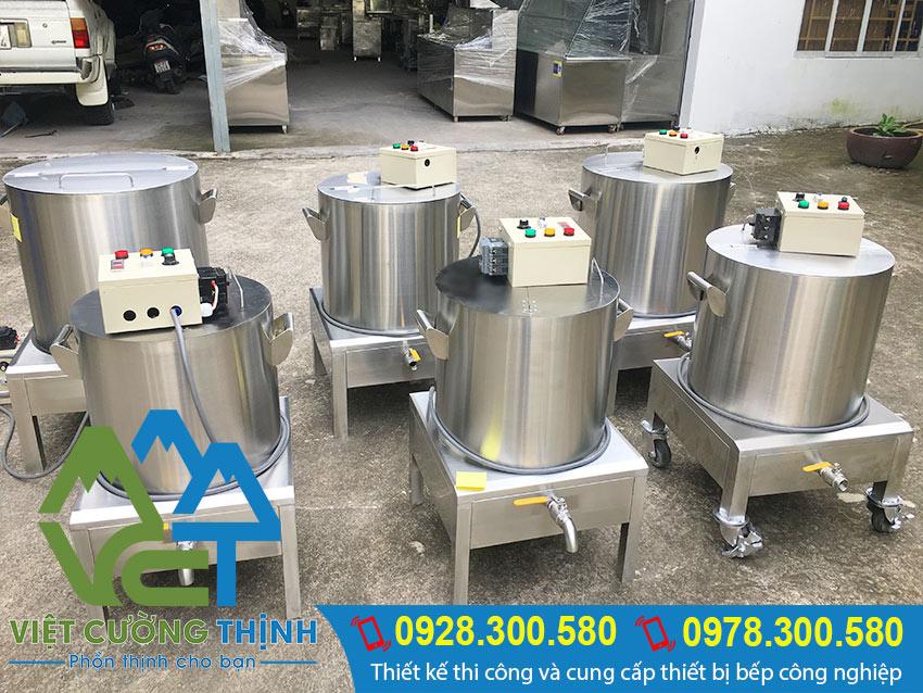 Nồi nấu phở bằng điện inox - Việt Cường Thịnh