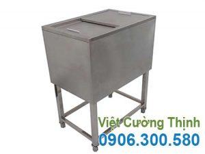 Thùng đựng đá inox, thùng đá inox mã 1088 giá tốt tại xưởng sản xuất VCT liên hệ mua ngay hoặc đặt hàng theo yêu cầu.