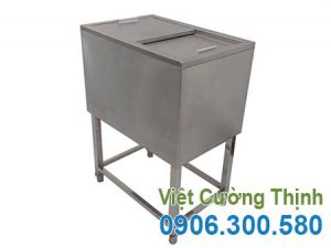 Thùng đựng đá inox, thùng đá inox giá tốt tại xưởng sản xuất VCT liên hệ về phía cty chúng tôi để mua sản phẩm theo nhu cầu mẫu mã đa dạng.