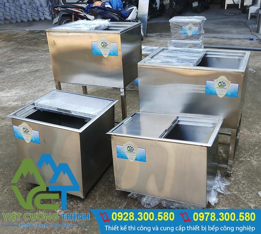 Bạn đang ở vị trí TP HCM muốn mua thùng đá inox, thùng đựng đá inox 304 uy tín chất lượng kích thước đúng với nhu cầu thực tế hãy nhanh chóng liên hệ Inox Việt Cường Thịnh Ngay.