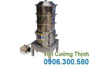 Nồi hấp bánh bao công nghiệp bằng điện 3 tầng Việt Cường Thịnh