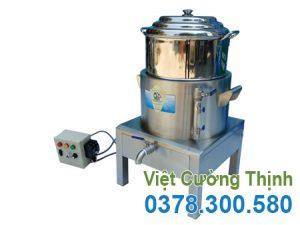 Nồi hấp cơm tấm bằng điện 1 tầng tại Việt Cường Thịnh. Xửng hấp xôi giá tốt, chất lượng