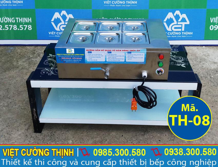 Báo giá tủ hâm nóng thức ăn mini để bàn, máy hâm nóng thức ăn bằng điện chất liệu Inox 304.