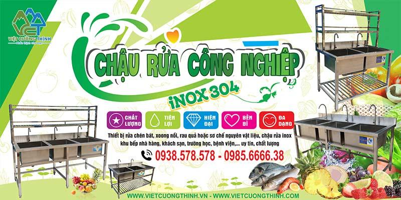 Địa chỉ sản xuất bồn rửa inox công nghiệp nhà hàng uy tín cho quý khách nhận ngay chậu rửa inox giá gốc tại xưởng.