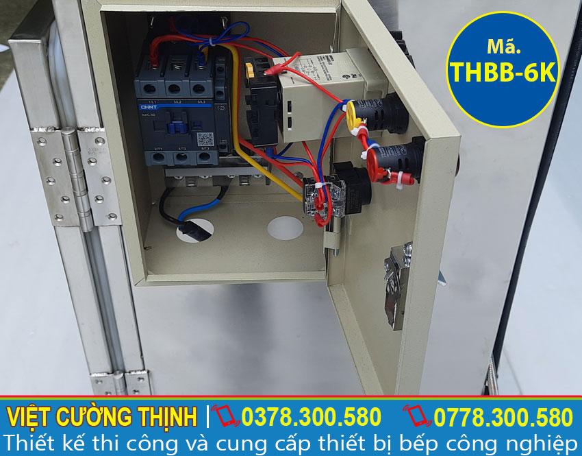 Hộp điện tủ hấp bánh bao công nghiệp