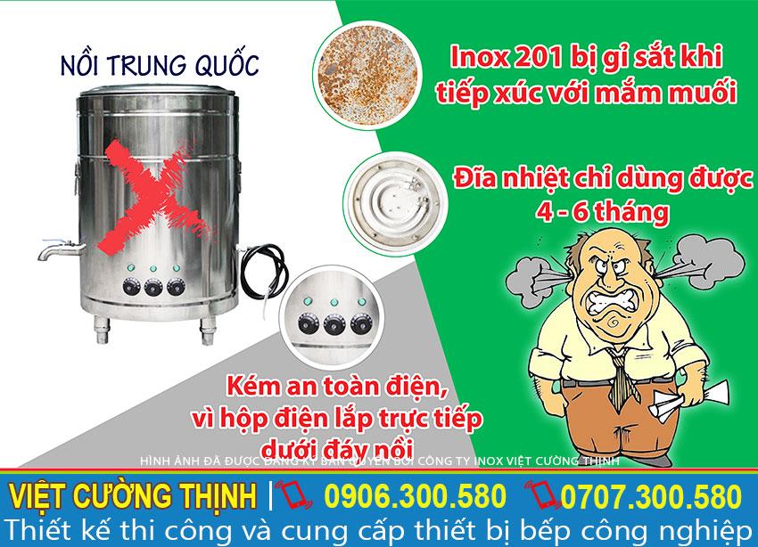 Bạn đang muốn biết mua nồi nấu phở bằng điện ở đâu. Hãy liên hệ Inox Việt Cường Thịnh tư vấn báo giá nồi nấu phở bằng điện tốt nhất nhé!
