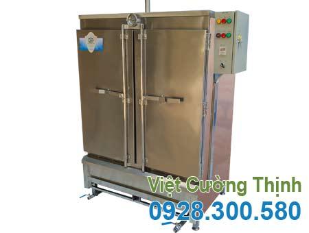 Tủ hấp cơm sử dụng điện và gas THC-80/GD