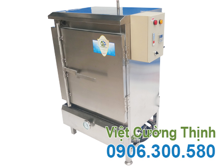 Tủ nấu cơm 30kg sử dụng điện và gas THC-30/GD
