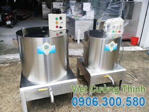 Bộ nồi nấu phở công nghiệp bằng điện 50-60l