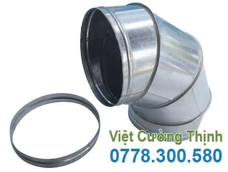 Co nối ống hút khói dạng tròn OHK-06