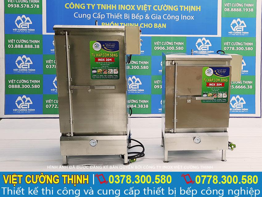 Tủ hấp cơm công nghiệp giá tốt, tủ cơm công nghiệp gas và điện, tủ nấu cơm công nghiệp.
