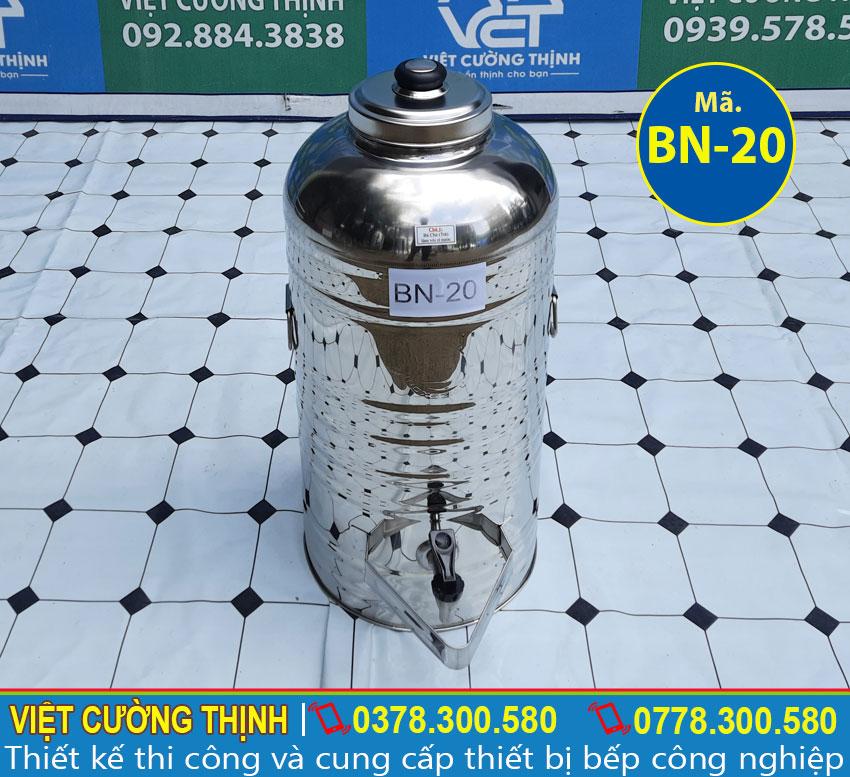 Bao giá bình nước inox 304