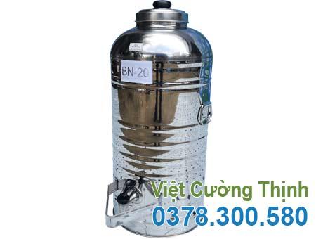 Bình đựng nước đá inox 20 lit BN-20