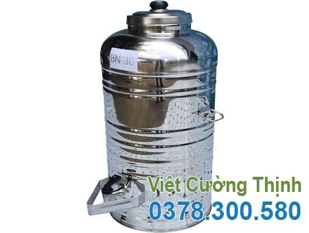 Bình đựng nước đá inox 304 30 lit BN-30