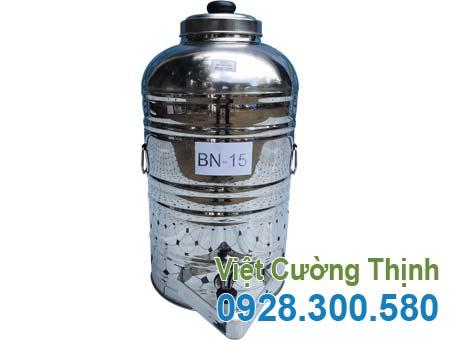 Bình nước inox 15 lit BN-15